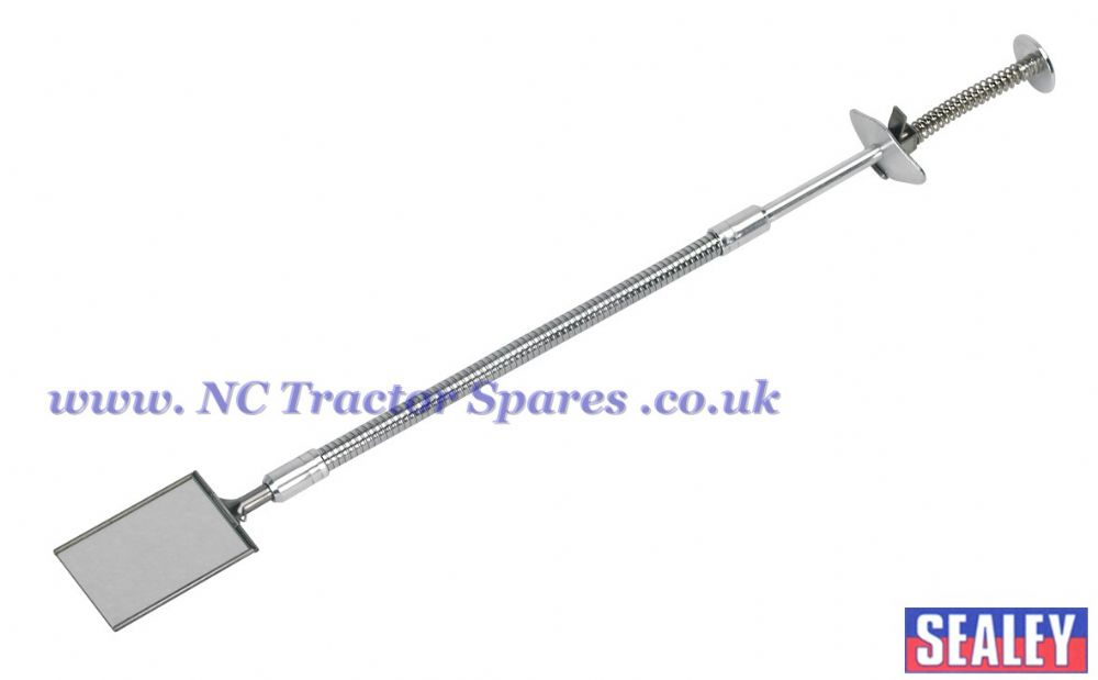Flexible Shaft Inspection Tool - Adjustable Mirror 70 x 50mm